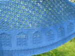 TARDIS shawl by Timestitcher