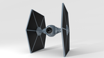 TIE Fighter Model by Zorokra