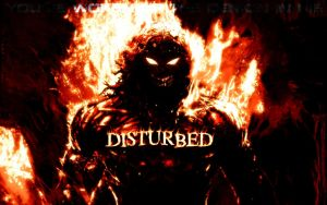 Disturbed by DarkandStormyKnight