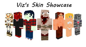 Minecraft Skin Showcase by Invizibiz
