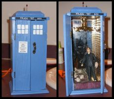Tardis Jewelry Box by Beileil