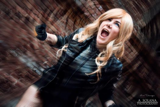 Black Canary [08] Sonic Scream! by HiniTsuburagi