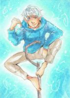Rise of the Guardians - ACEO Jack Frost by Pandablubb