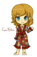 Fem!bilbo by QwikSylverShadows