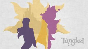 Tangled minimalist by YukiOria