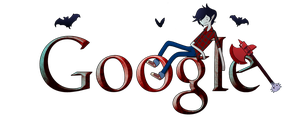 Adventure Time Google Logo 3 (+installation guide) by Albusonita