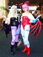 MC07 Morrigan and Lilith by Group-Photos