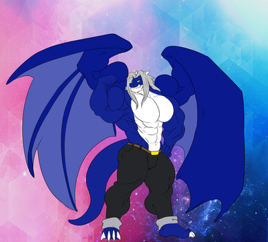 DemondragonCyan: Another Flex Shot by XennyDiemes