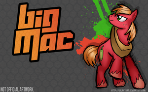 Fighting is Magic - Big Macintosh *Not official* by Galaxyart