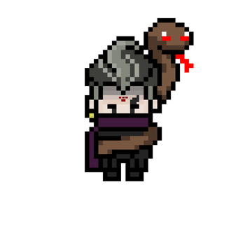 Pixel Despair Gundham Tanaka by stevendrews09