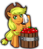 Apple Harvest PNG by NewtieNewt