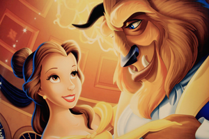 Beauty and Beast Wallpaper by LucieWay