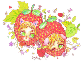 strawbabies by bearkind