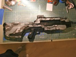 Halo 4 Battle Riffle by NEMESIS-01