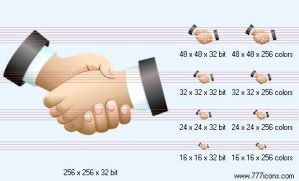 Handshake Icon by jpeger