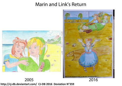 Marin and Link's return by CJ-DB