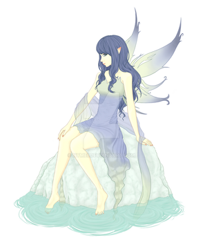 Water Fairy by nymei