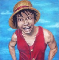 Luffy by ChalkTwins