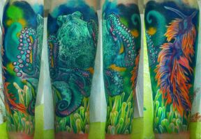 underwater sleeve in progress by NikaSamarina