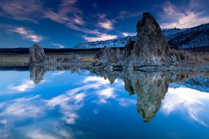 Mono Lake Sunset VII by gursesl