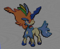 Keldeo - Resolute Forme by PkmnMc