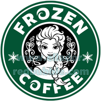 Frozen Coffee by Elladorine