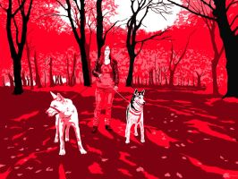 In The Red Forest by Ezekiel-J