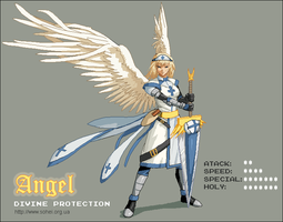 Angel by iSohei
