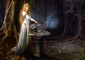 The Mirror of Galadriel by Leone-art