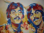 Beatles close up by always-foreverlilly