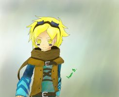 Ezreal Colored by LSWriter