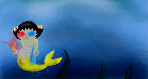 MermaidStuck:Sollux by Raichufan1