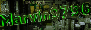 Marvin9796 Channel Banner by RapidFireArts