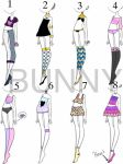 Large Mixed Outfits Batch {OPEN} by pink-lemonade-bunny
