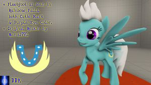 [DL] Fleetfoot from Rainbow Falls by BB-K
