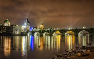 Night walks again| Prague by Impo5siblr