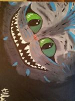 Cheshire Cat by headerfeather