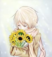 Russia with Sunflowers--APH by chahan-aru
