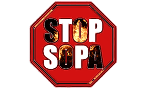 stop sopa by d7mey