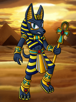 Anubis by OrionTHedgehog
