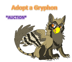 --CLOSED--Gryphon adopted! by AixaRawr