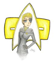 Commander Seven of Nine by MadHatterGirlx3