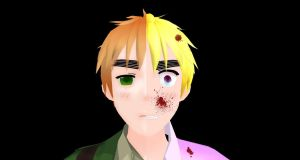Behind this faded smile by hetalia-fanart