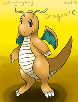 Dragonite by kay-la-la