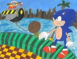 Sonic vs. Eggman- The First Encounter by Guardian-of-Legends