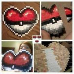 Handmade Pokeball Heart Container (Valentine's) by SarahKahlan