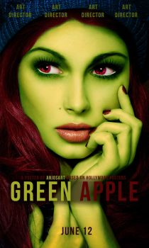 Poster Green Apple by AnjosArt