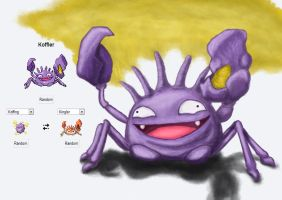 Pokemon Fusion - Koffler by A-Pancake