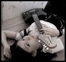 Guitar Murder by Disthymya