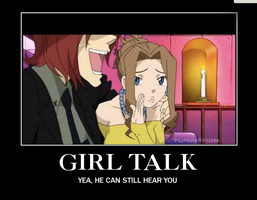 .:. Girl Talk .:. by The-fandom-alchemist